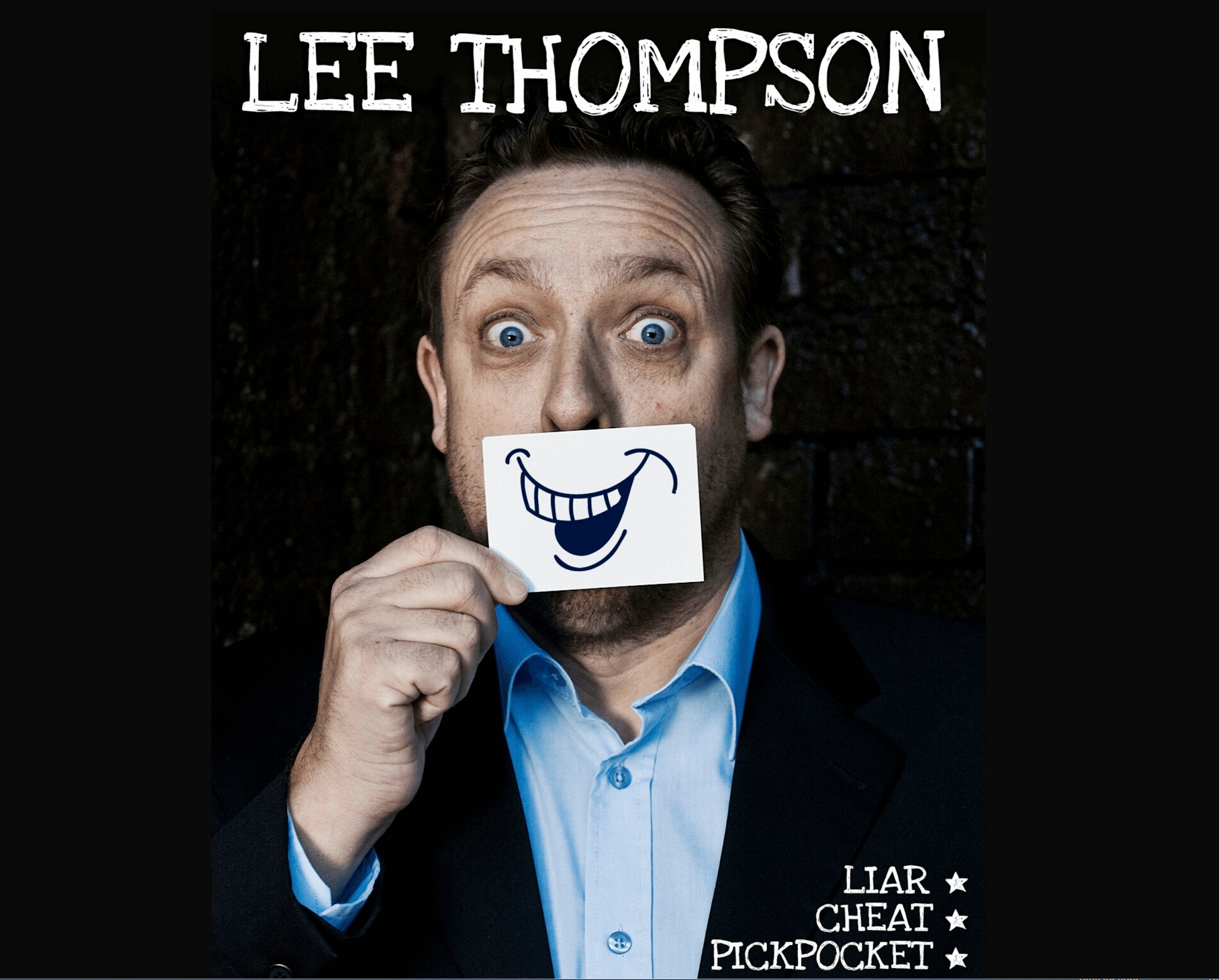 Pickpocket for Hire Lee Thompson tradeshow